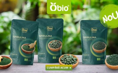 Spirulina tablets, powder and flakes from European origin